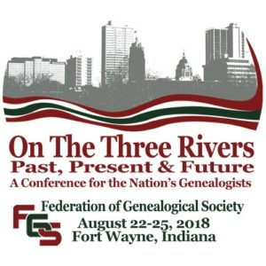 Federation of Genealogical Societies 2018 Conference